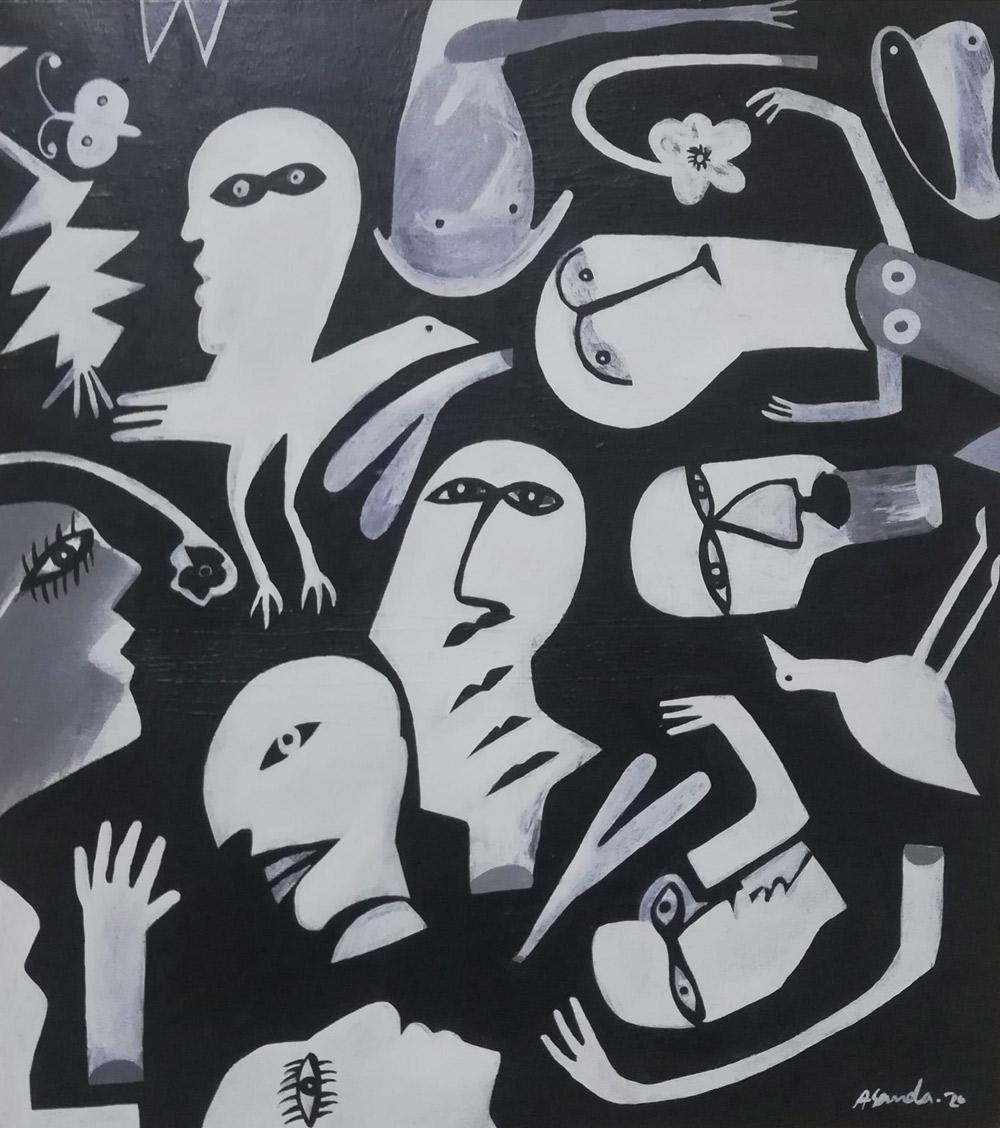 لوحة مصطفى حسن